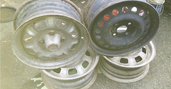 Vendo 4 rodas  de Chevette