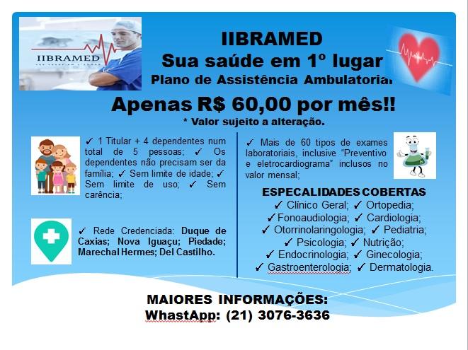 Plano de Assistência Ambulatorial Familiar – IIBRAMED