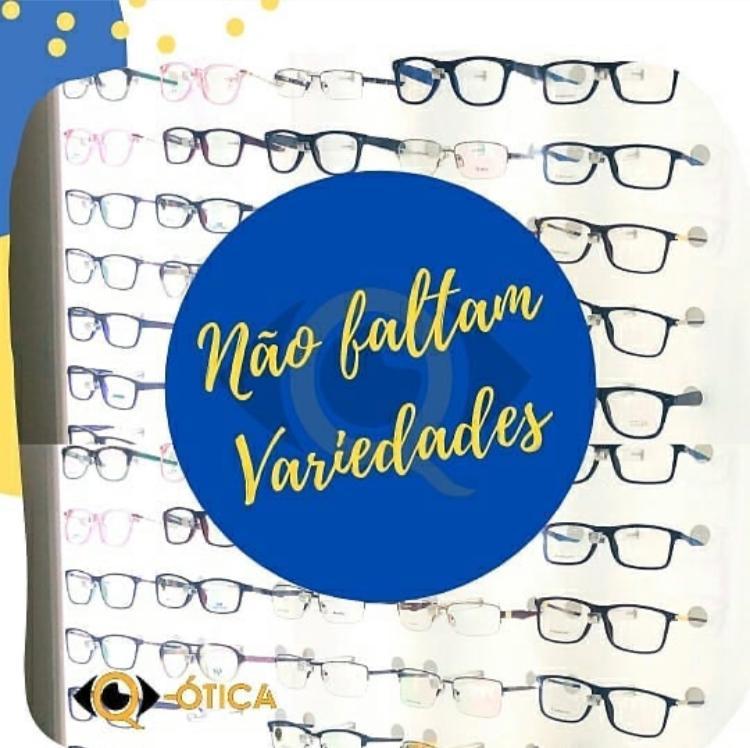 Q-Ótica – Óculos, armações e lentes