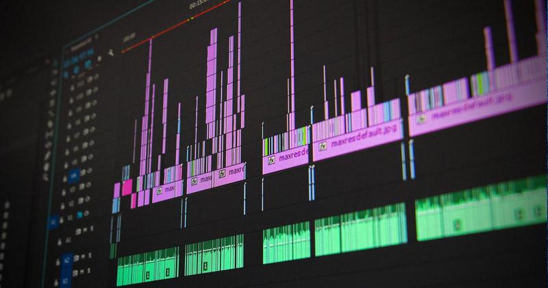 Edições profissionais de vídeos e vinhetas