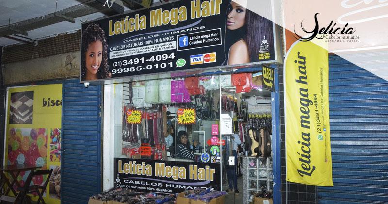 Letícia Mega Hair – Cabelos 100% humanos